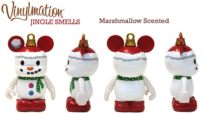 Vinylmation Open And Misc Jingle Smells Marshmallow