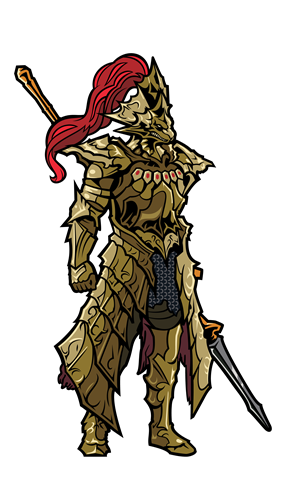 FiGPin Dark Souls Dragonslayer Ornstein