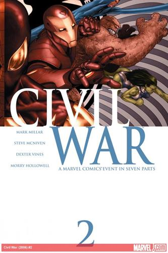 Marvel Comics Civil War (2006 - 2007) Civil War (2006) #2