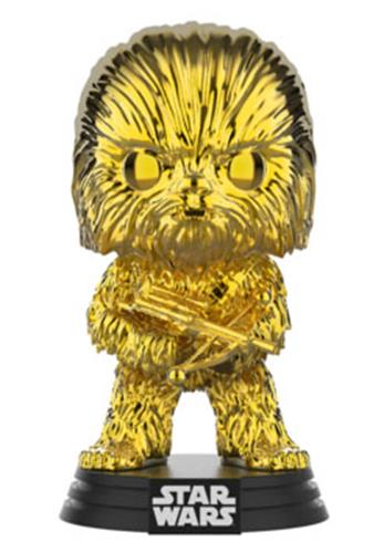 Funko Pop! Star Wars Chewbacca (Gold Chrome)