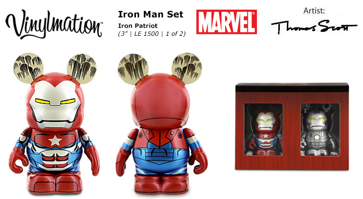 Vinylmation Open And Misc Marvel Iron Patriot