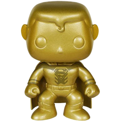 Funko Pop! Heroes Superman (Blackest Night) - Gold