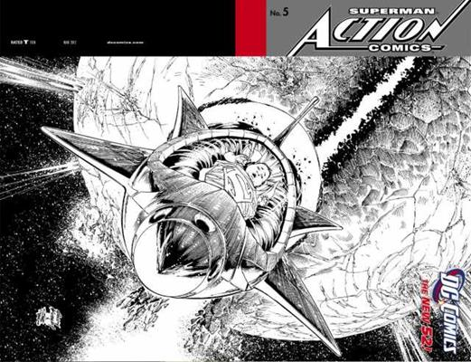 DC Comics Action Comics (2011 - 2016) Action Comics (2011) #5C Icon