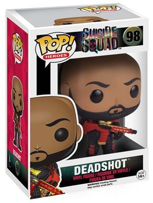Funko Pop! Heroes Deadshot Stock
