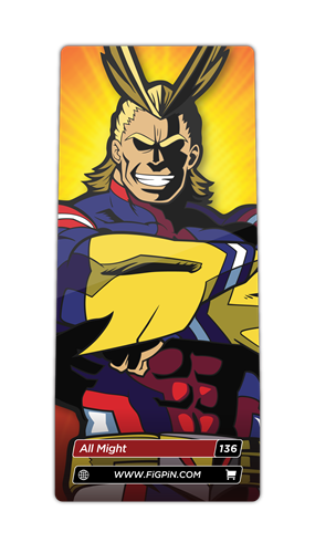 FiGPin My Hero Academia All Might