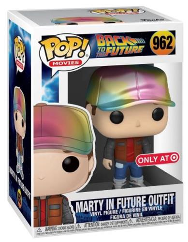 Funko Pop! Movies Marty In Future Outfit (MT) Stock