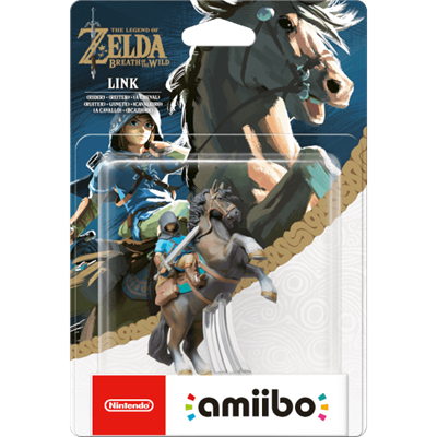 Amiibo The Legend of Zelda Link (Rider) Stock