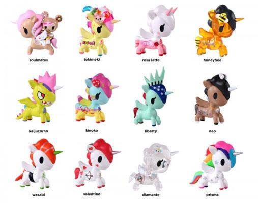 Tokidoki Unicorno Series 5 neo Stock
