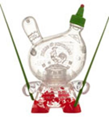 Kid Robot Special Edition Dunny Sketracha (Empty)