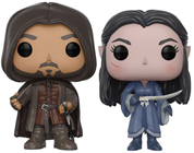 Funko Pop! Movies Aragorn & Arwen