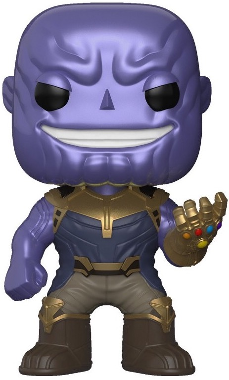 Funko Pop! Marvel Thanos (Metallic)