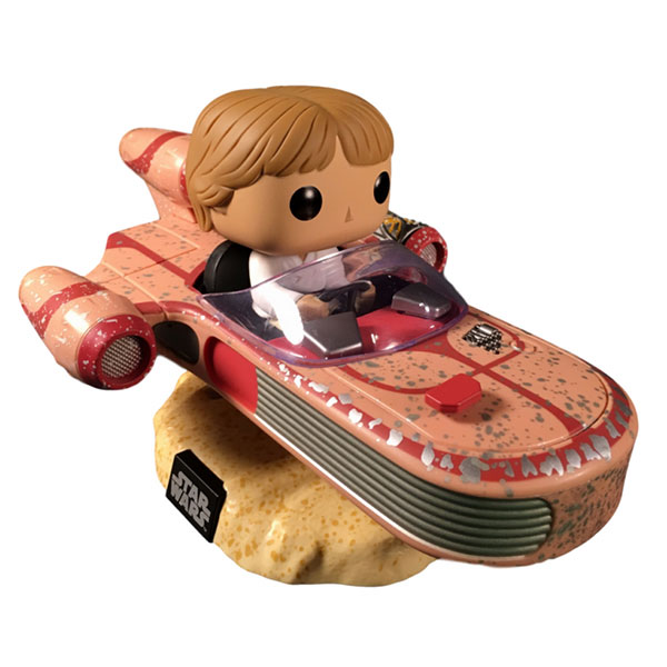 Luke Skywalker with Speeder