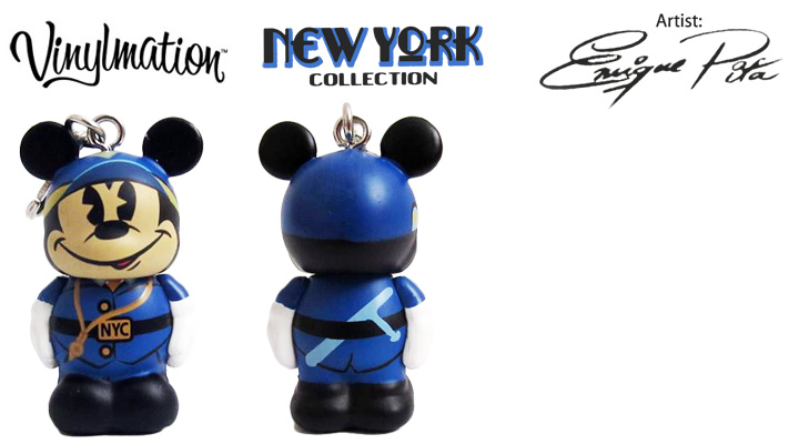Vinylmation Open And Misc City NYC Policeman Mickey Jr.