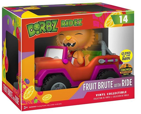 Dorbz Dorbz Ridez Fruit Brute (w/ Ride) - Glow Stock