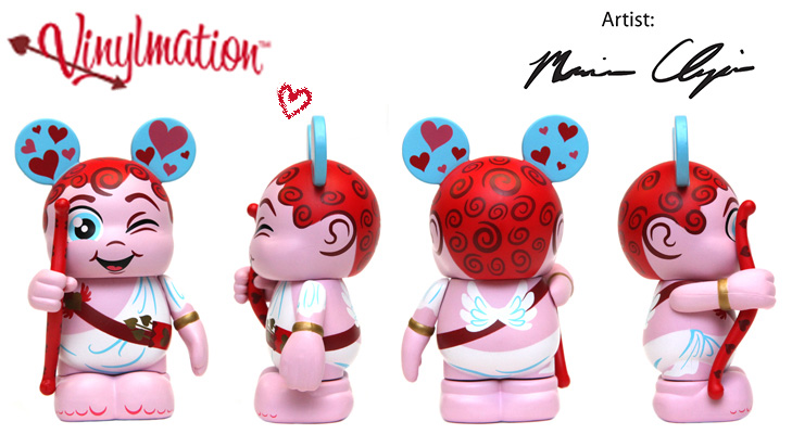 Vinylmation Open And Misc Holiday Valentine's Day 2013