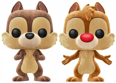 Funko Pop! Disney Chip & Dale (Flocked)