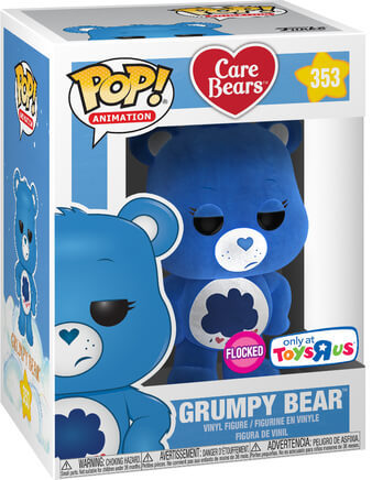 Funko Pop! Animation Grumpy Bear (Flocked) Stock