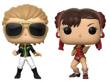 Funko Pop! Games Ms Marvel v. Chun-Li (Version 2)