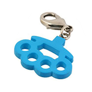 Kid Robot Blind Boxes Things That Hurt Brass Knuckles - Blue