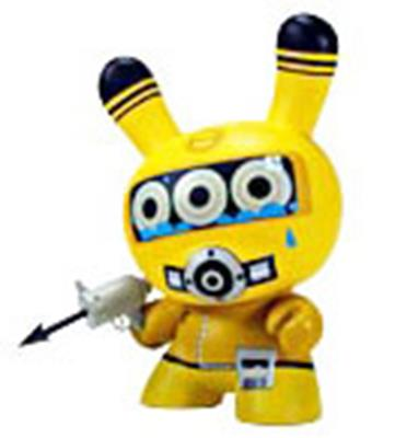 "Kid Robot 8"" Dunnys Diver (Yellow)"