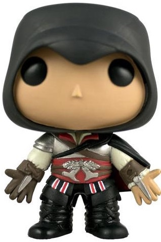 Funko Pop! Games Ezio (Black Hood) Icon Thumb