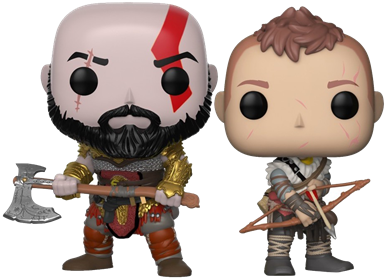 Funko Pop! Games Kratos and Arteus