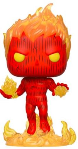Funko Pop! Marvel Human Torch (On Fire) (Glow in the Dark)