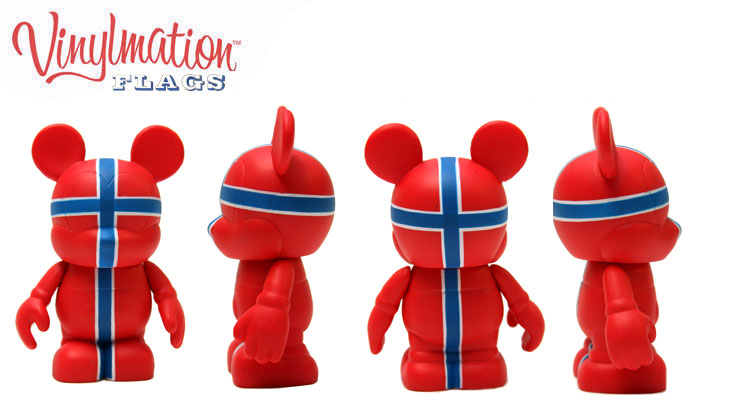 Vinylmation Open And Misc Flags Norway