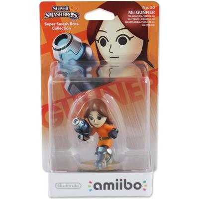 Amiibo Super Smash Bros. Mii Gunner Stock
