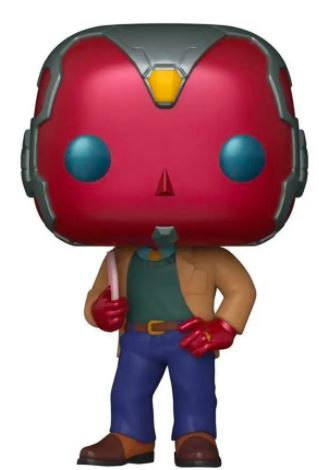 Funko Pop! Marvel 70s Vision Icon