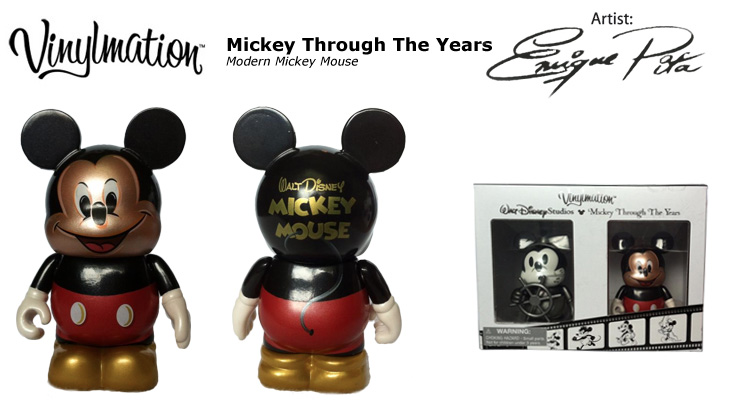 Vinylmation Open And Misc Mickey Through the Years Modern Mickey