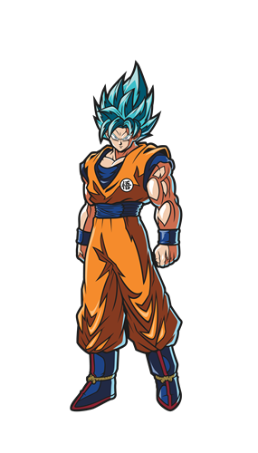 FiGPin Dragon Ball FighterZ Super Saiyan God Super Saiyan Goku Icon