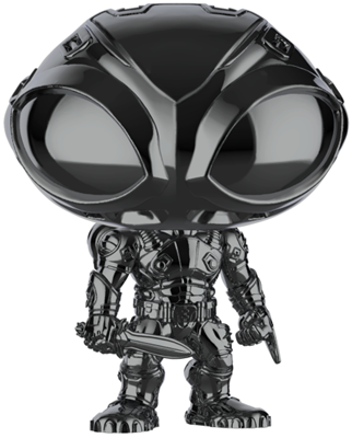 Funko Pop! Heroes Black Manta (Gloss) Icon