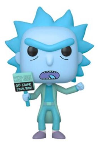 Funko Pop! Animation Hologram Rick Clone