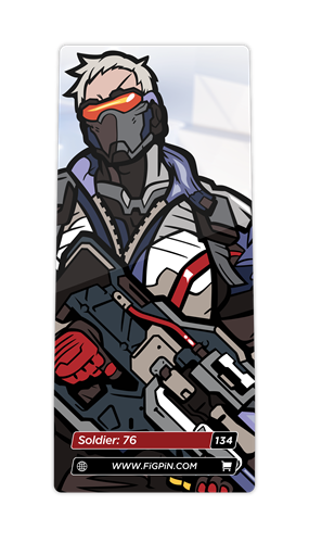 FiGPin Overwatch Soldier: 76