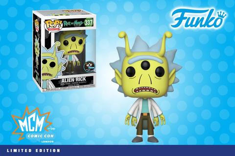 Funko Pop! Animation Rick (Alien)