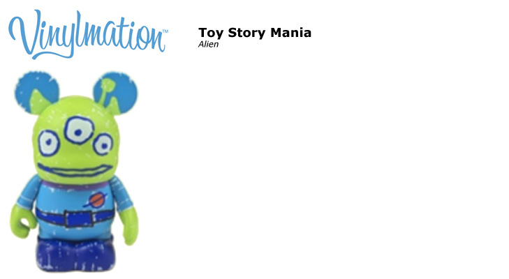 Vinylmation Open And Misc Toy Story Mania Alien