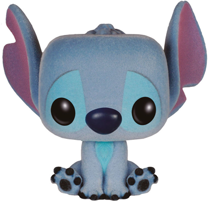 Funko Pop! Disney Stitch (Seated) - Flocked