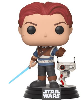 Funko Pop! Star Wars Cal Kestis with BD-1