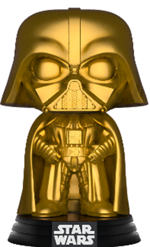 Funko Pop! Star Wars Darth Vader (Gold Metallic)