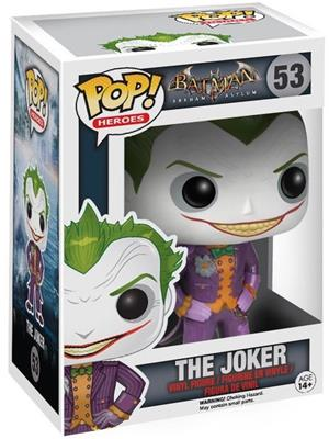 Funko Pop! Heroes The Joker (Arkham Asylum) Stock