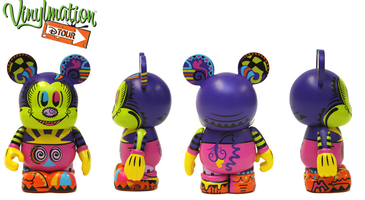 Vinylmation Open And Misc D-Tour Illustration