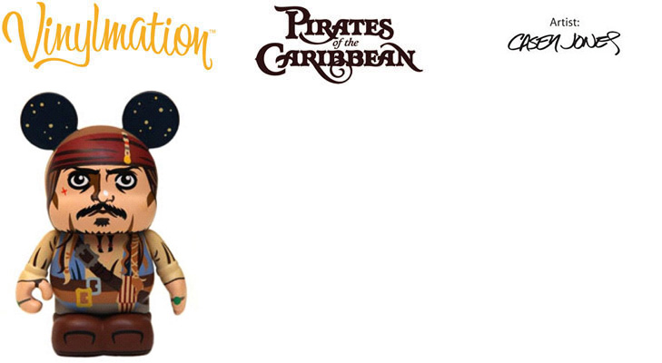 Vinylmation Open And Misc Stranger Tides Captain Jack Sparrow