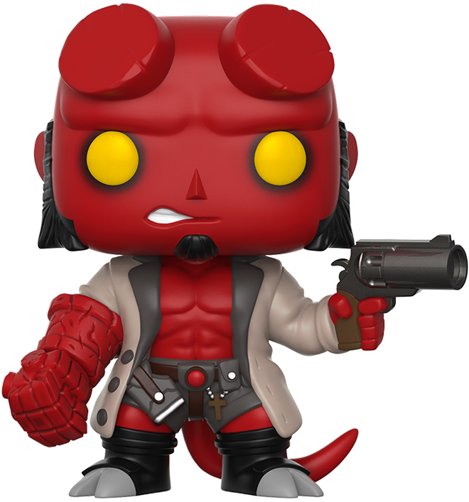 Funko Pop! Comics Hellboy