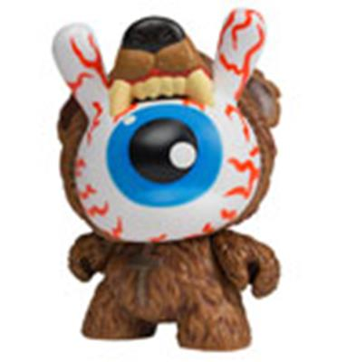Kid Robot Special Edition Dunny Bad News Cub: Kodiak