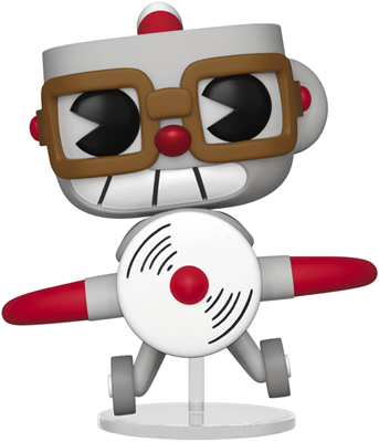 Funko Pop! Games Cuphead in Aeroplane