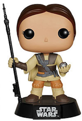Funko Pop! Star Wars Princess Leia (Boushh) - Unmasked