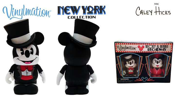 Vinylmation Open And Misc New York City Mickey