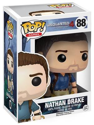 Funko Pop! Games Nathan Drake Stock