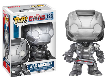 Funko Pop! Marvel War Machine (Civil War) Stock